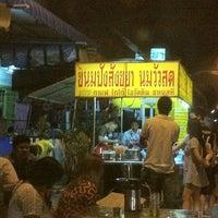 Photo taken at แม่อ้อยขนมปังสังขยา นมสด สาขา 2 by Boss Z. on 4/21/2012