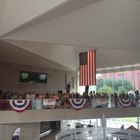 Photo taken at National Constitution Center by Amy L. on 8/3/2012