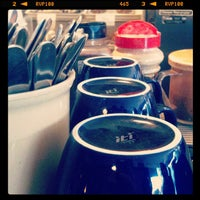 Photo taken at Blue Line Coffee by Lady B. on 10/19/2011