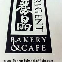Photo taken at Regent Bakery & Cafe by Chris L. on 2/11/2012