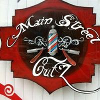 Photo taken at Main Street Cutz by Jay W. on 10/26/2011