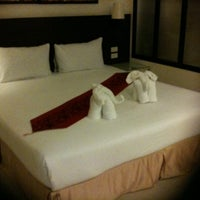 Photo taken at @ White Patong Hotel by Parisara on 1/12/2012