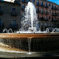 Photo taken at Plaça de la Font Lluminosa by Ruscles S. on 11/26/2011
