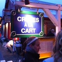 Photo taken at Crepes a la Cart by Patrick S. on 3/18/2011