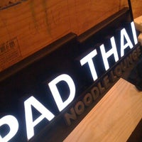 Photo taken at Pad Thai Noodle Lounge by Mattana F. on 8/14/2011