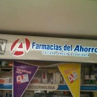 Photo taken at Farmacias del Ahorro by Andres C. on 10/24/2011
