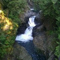 Photo taken at Twin Falls Trail by Dani C. on 9/14/2011