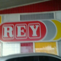 Photo taken at Supermercados Rey by Ronny N. on 3/30/2012