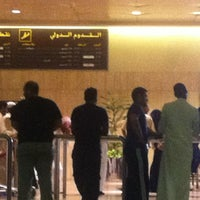 Photo taken at International Arrivals at KFIA by Emad S. on 8/12/2012