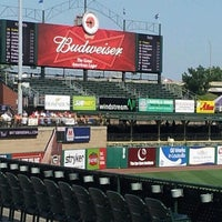 Photo taken at Louisville Slugger Field by Eddy S. on 8/2/2012