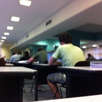 Photo taken at Biblioteca Central by Victória R. on 11/21/2011