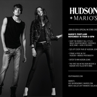 Photo taken at Marios by Hudson Jeans on 11/10/2011