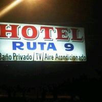 Photo taken at Hotel Ruta 9 by NACHO U. on 11/18/2011
