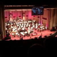 Photo taken at Copley Symphony Hall by Christiane .. on 12/17/2011