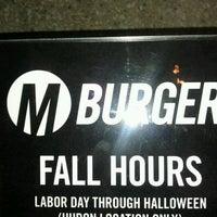 Photo taken at M Burger by Jai on 9/19/2011