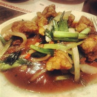Photo taken at Congee Star 帝王名粥 by Justin V. on 6/9/2012