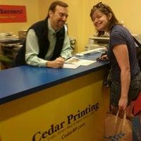 Photo taken at Cedar Printing by Joanna F. on 8/22/2011