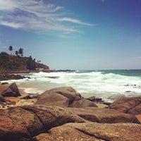 Photo taken at Praia do Buracão by Guilherme G. on 11/6/2011