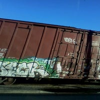 Photo taken at Front street railroad tracks by Steve B. on 10/13/2011