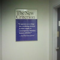 Photo taken at The New Criterion by Peter R. on 10/3/2011