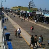 Photo taken at Wildwood Boardwalk by Victor L. on 7/21/2011