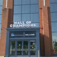 Photo taken at NCAA Hall of Champions by Daniel C. on 8/2/2011