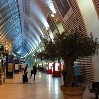 Photo taken at Avignon TGV Railway Station by Cécile L. on 11/14/2011