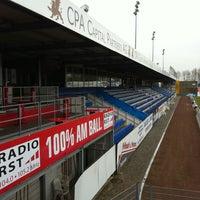 Photo taken at FRIMO Stadion by Carolin H. on 3/31/2011