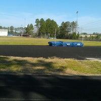 Photo taken at Michael J. Jordan Gymnasium by Karly B. on 3/15/2012