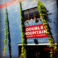 Photo taken at Double Mountain Brewery & Taproom by Blake C. on 8/14/2012