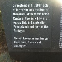 Photo taken at The Pentagon 9/11 Memorial by Patrick Z. on 7/22/2012