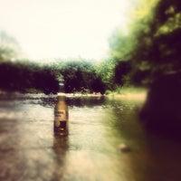Photo taken at Flat Rock by Daniel L. on 6/17/2012