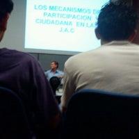 Photo taken at Auditorio 3 (Univalle) by Jaime H. on 5/15/2012