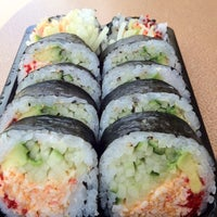 Photo taken at Oishii sushi by Rhonda F. on 5/11/2012