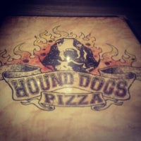 Photo taken at Hounddog's Three Degree Pizza by Will N. on 9/12/2012