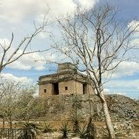 Photo taken at Zona Arqueológica de Dzibilchaltún by Zaide C. on 3/18/2012