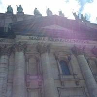 Photo taken at Cathédrale Marie-Reine-du-Monde by Shahram A. on 6/27/2012