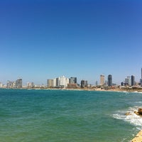 Photo taken at Yaffo Beach by Юля Т. on 4/21/2012
