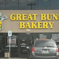 Photo taken at Great Buns Bakery by Regina on 8/1/2012