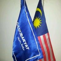 Photo taken at Bank Rakyat Dungun by mR. Z. on 2/16/2012