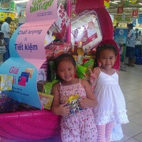 Photo taken at Co.opmart Ly Thuong Kiet by Le Quyen on 9/2/2012