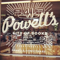 Photo taken at Powell's City of Books by Matthew L. on 9/8/2012