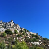 Photo taken at Saint Hilarion Castle by Erge Y. on 9/1/2012