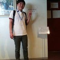 Photo taken at 沖縄県青年会館 by Jeong-Hoon O. on 6/27/2012
