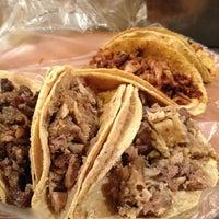 Photo taken at Tacos San Cayetano by Juan Manuel O. on 3/8/2012