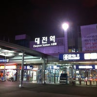 Photo taken at Daejeon Stn. - KTX/Korail/SRT by JaeRim K. on 6/11/2012
