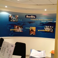 Photo taken at Berlitz by Mina L. on 3/19/2012