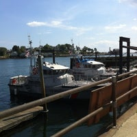 Photo taken at Coast Guard Station Gloucester by Tatiana K. on 8/13/2012