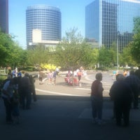 Photo taken at Rosa Parks Circle by Jason P. on 6/8/2012