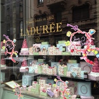 Photo taken at Ladurée Milan by Mauro S. on 5/27/2012